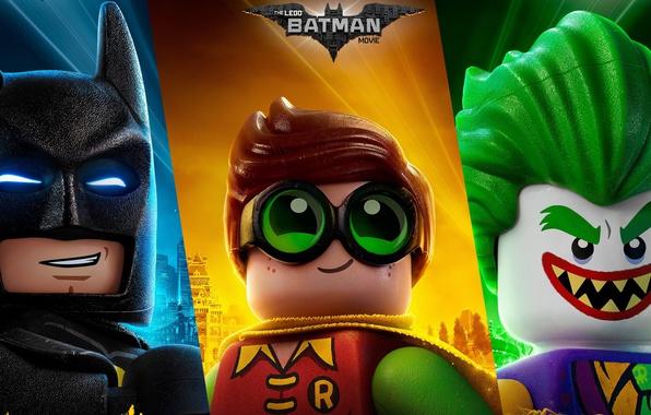 Картинка cinema, toy, Batman, Joker, movie, bat, Lego, Robin, film, animated film, animated movie, The Lego: …