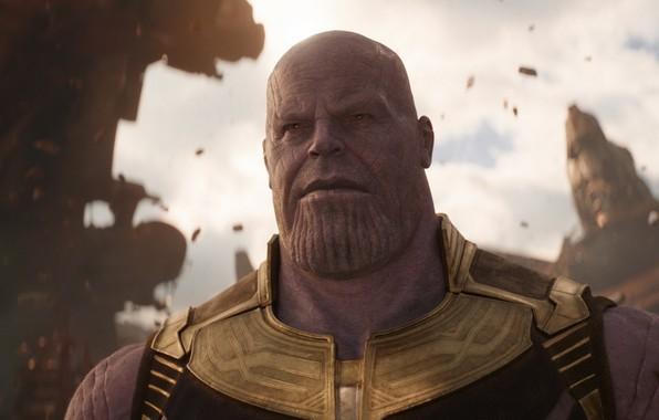Картинка Marvel, титан, comics, 2018, film, Мстители, Josh Brolin, Джош Бролин, Movie, Thanos, Танос, Avengers: Infinity ...