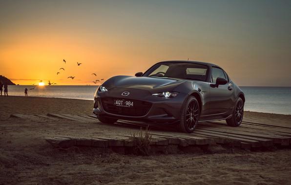 Картинка закат, Mazda, 2018, MX-5, RF Limited Edition