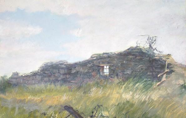 Картинка пейзаж, развалина, Айбек Бегалин, Спасск, Карлаг
