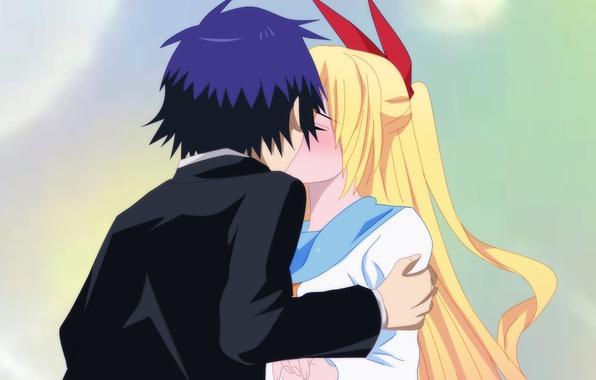 аниме притворная любовь картинки