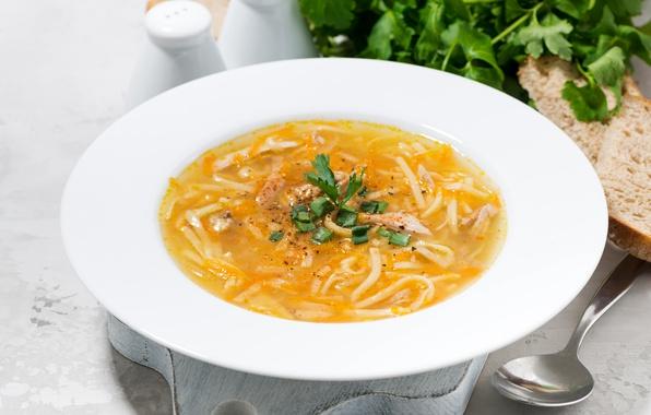 Картинка тарелка, суп, горячее