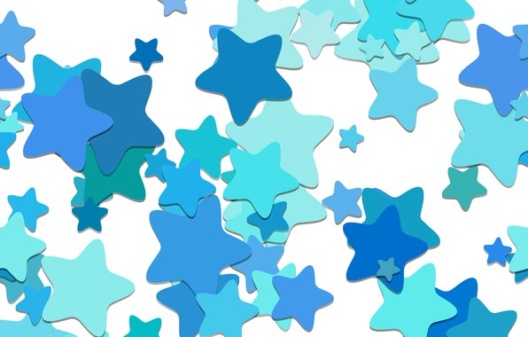 Картинка фон, vector, текстура, blue, background, pattern, stars