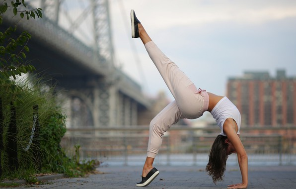 Какие есть позы с гимнастками