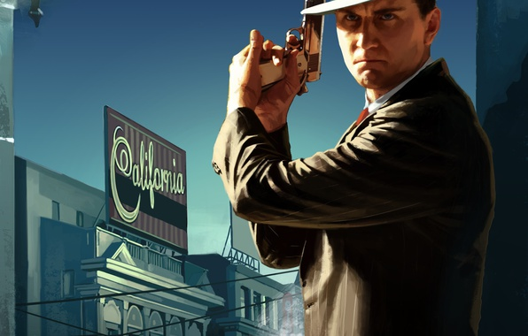 Картинка Game, L.A. Noire, Rockstar Games