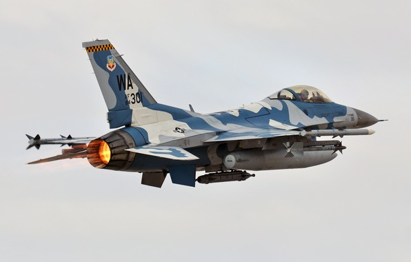 Картинка Fighting, Falcon, F-16C