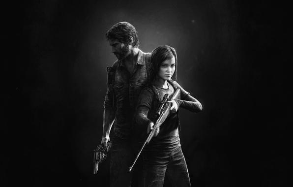 Картинка Элли, Game, The Last of Us, Джоэл, Naughty Dog, Joel, Ellie, Sony Computer Entertainment, Одни …