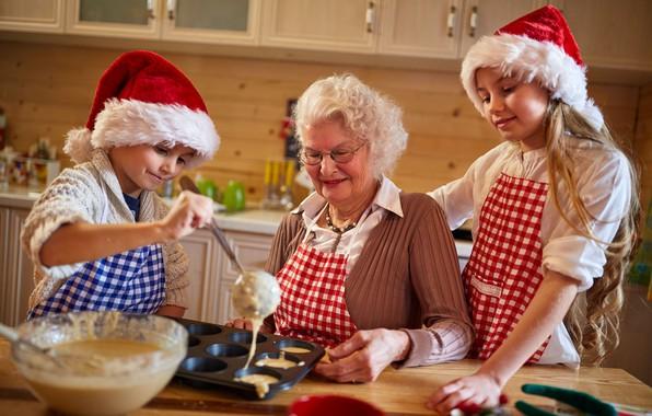 Картинка праздник, семья, подготовка, кулинария