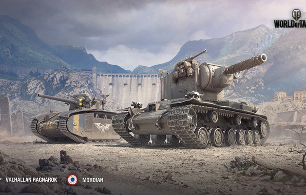 Картинка tank, heavy gun, world of tank