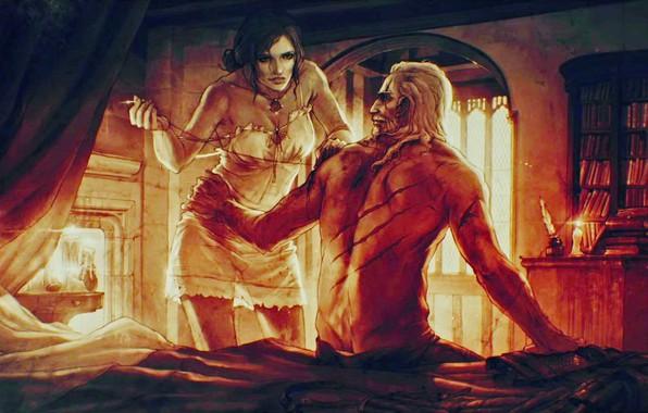Обои для рабочего стола The Witcher 3 Wild Hunt Ведьмак CD