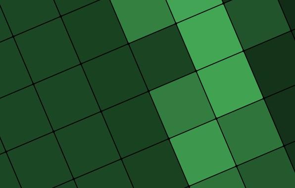 Картинка линии, зеленый, текстура, квадраты, design, color, material