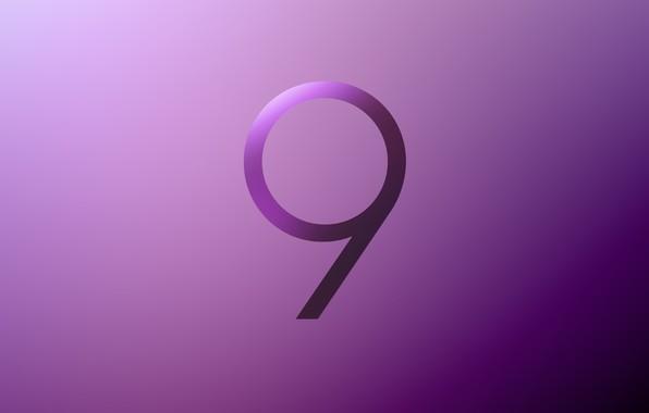 Картинка Samsung, Galaxy S9, Stock Purple