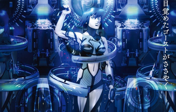 Ghost in the Shell: The New Movie - Wikipedia