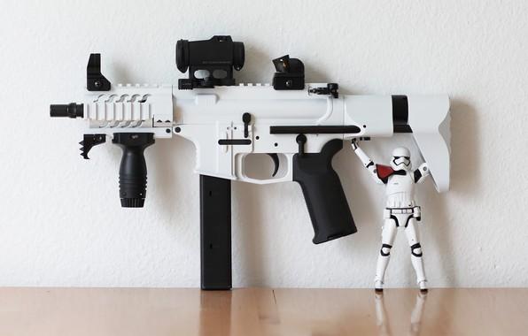 Картинка оружие, 9mm, stormtrooper, AR15