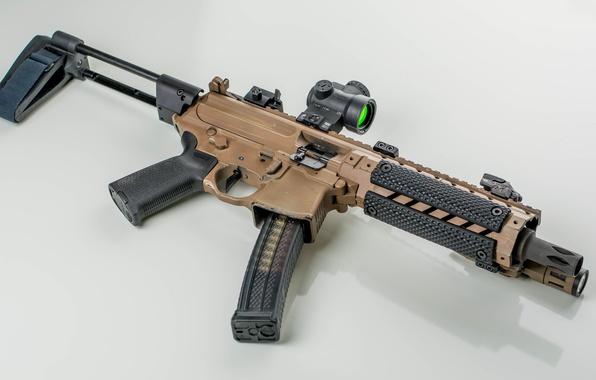 Картинка оружие, фон, автомат