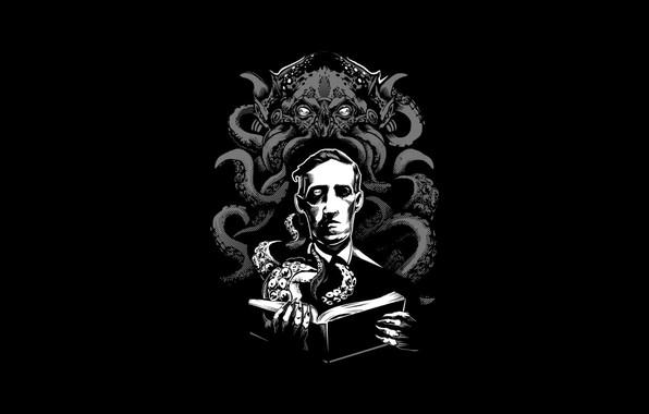 Картинка Ктулху, ужас, Cthulhu, Говард Филлипс Лавкрафт, Necronomicon, Лавкрафт, Howard Phillips Lovecraft, Некрономикон