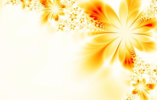 Картинка цветок, абстракция, фон, узор