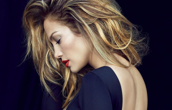 Картинка спина, актриса, певица, Jennifer Lopez