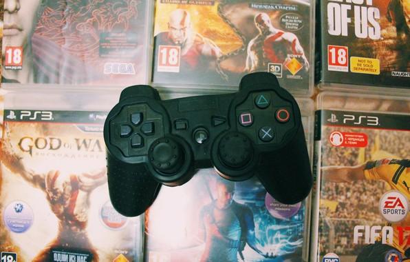 Картинка Игры, ps3, геймпад, playstation