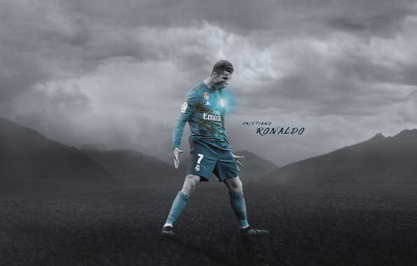 Картинка Cristiano Ronaldo, football, CR7, champions league, legend, Real Madrid, Portugal, player, Ronaldo, the celebration