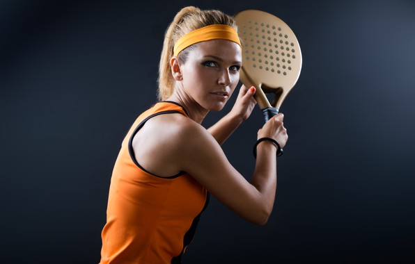 Картинка model, tennis, pose