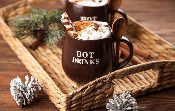 Обои ко�е �околад �ливки �а�ка hot ко�и�а cup какао