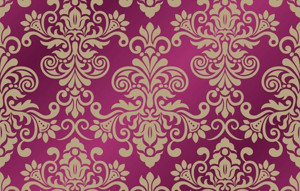 Картинка фон, vector, вектор, орнамент, pattern, ornament, seamless