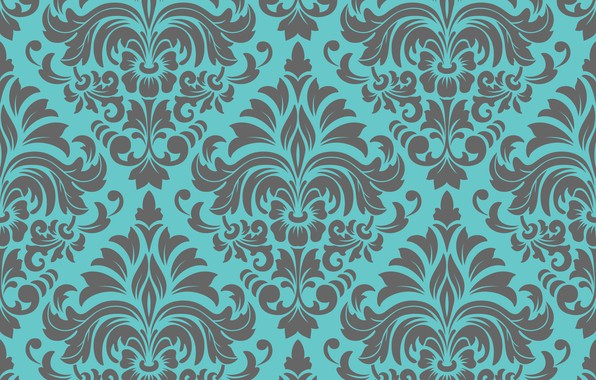 Картинка цветы, текстура, орнамент, vintage, flower, design, background, pattern, floral