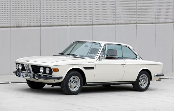 Фото обои Авто, 1973г., BMW-30-CSI