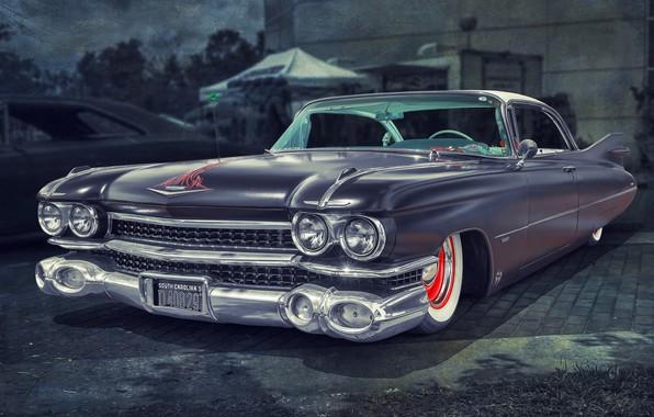 Картинка Cadillac, 1959, Fleetwood