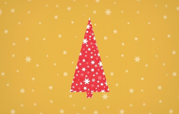 Картинка снежинки, праздник, елка, вектор, Новый Год