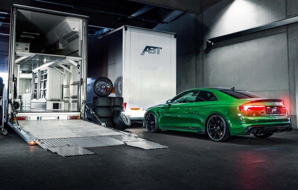 Картинка Audi, фары, RS5, Coupe, 2018, ABT, RS5-R