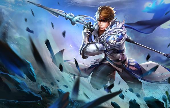 Картинка игра, арт, game, King of Glory, Mobile Legends: