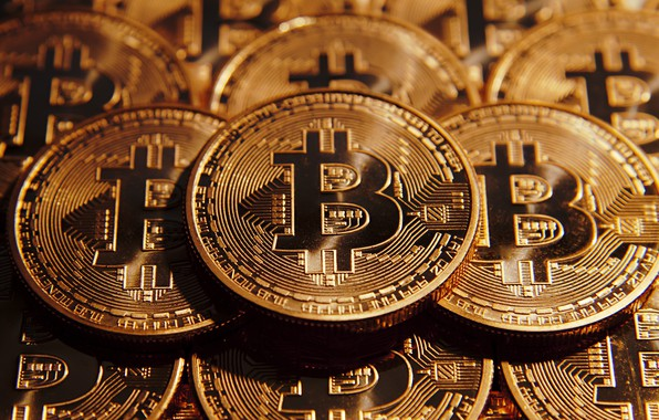 Картинка Gold, Coin, Bitcoin, Crypto-currency