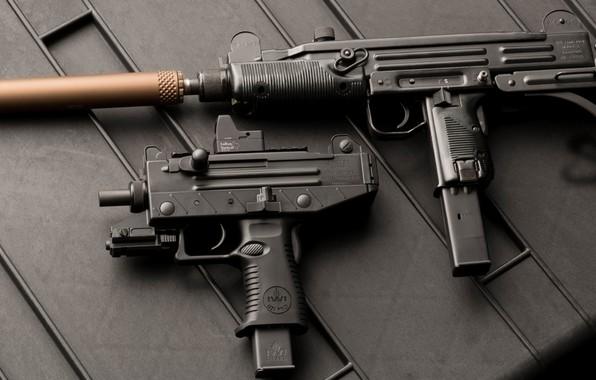 Картинка оружие, weapon, Uzi, Узи, пистолет пулемет, submachine gun, Micro Uzi, Микро Узи