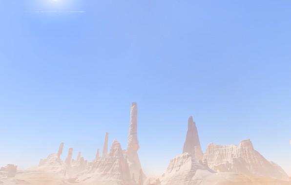 Картинка desert, rocks, Mass Effect Andromeda, Elaaden