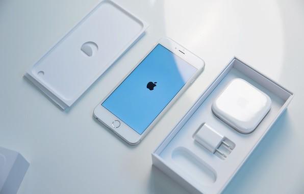 Картинка Apple, iPhone, White, Cupertino