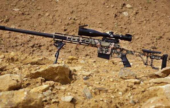Картинка оружие, weapon, custom, снайперская винтовка, sniper rifle, Лобаев армс, Lobaev arms