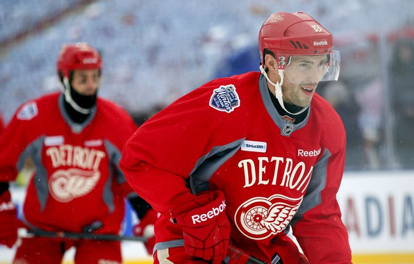 Картинка Игра, Спорт, Лед, Лёд, Detroit, NHL, НХЛ, Хоккей, Национальная хоккейная лига, Red Wings, Детройт, Игрок, …