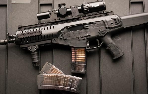 Картинка оружие, автомат, weapon, Beretta, штурмовая винтовка, assaul rifle, ARX