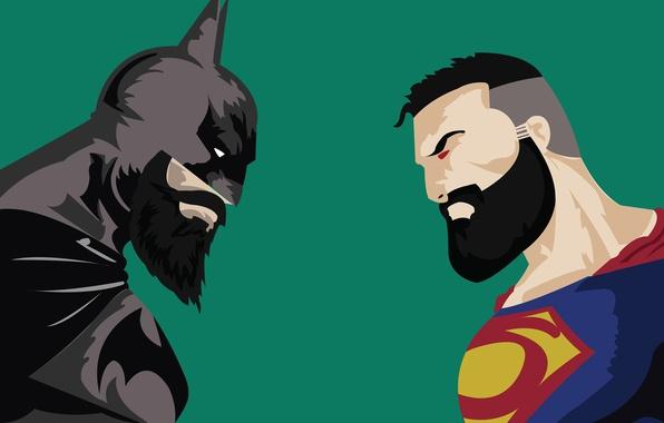 Картинка Batman, bat, Superman, hero, powerful, strong, yuusha, super hero, Batman v Superman: Dawn of Justice, ...
