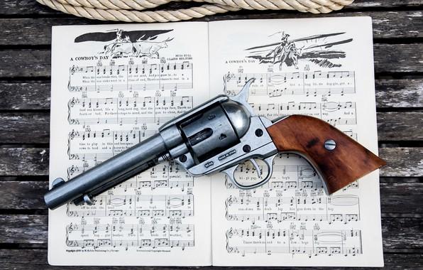 Картинка Revolver, Songbook, Cowboy's Day, Colt 45