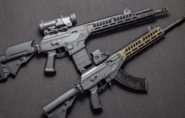 Картинка оружие, Автомат, Gun, weapon, кастом, Custom, Штурмовая винтовка, AR-15, Assault Rifle, Galil, Галил, АР-15