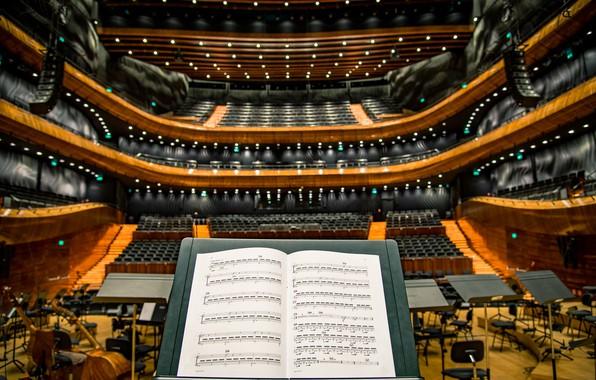 Картинка ноты, музыка, фото, music, виолончель, photo, cello, sheet music, пюпитр, филармония, philharmonic, music stand