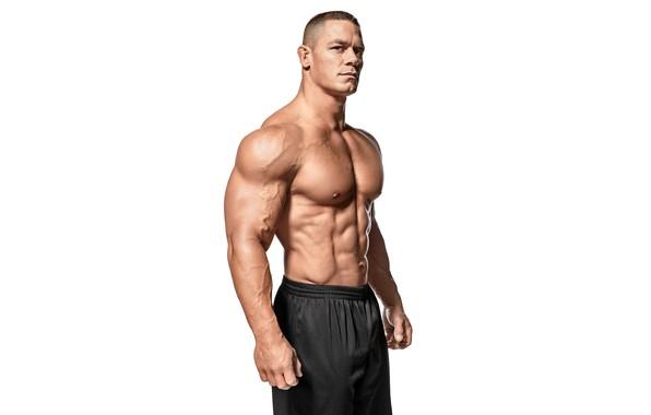 Картинка поза, актер, торс, muscle, мышцы, рестлер, пресс, WWE, Джон Сина, John Cena, бодибилдер, abs, bodybuilder, …