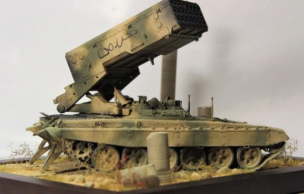 Картинка игрушка, моделька, Syrian Arab Republic, TOS 1-A, Opposition