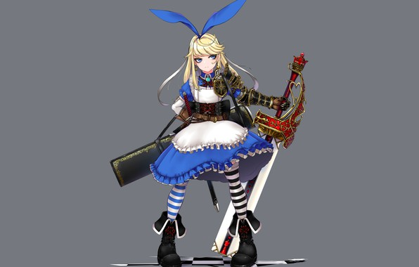 Картинка фон, Алиса, девочка