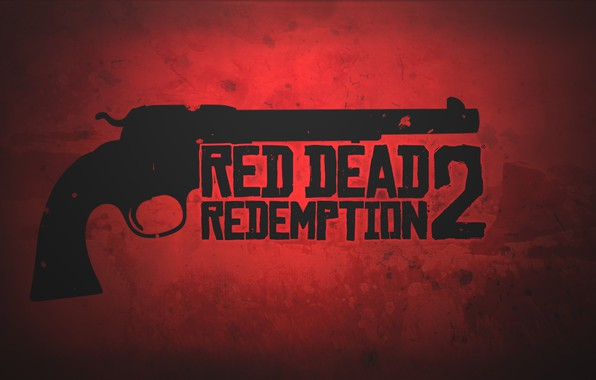 Картинка red, gun, game, weapon, revolver, Red Dead Redemption 2