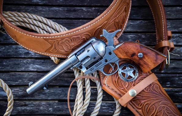Фото обои оружие, Revolver, Colt 45