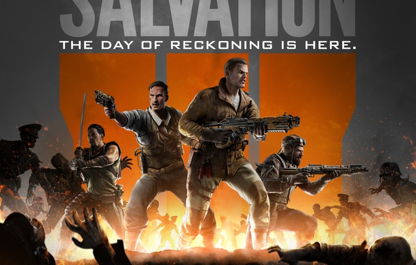 Картинка Game, Activision, Call of Duty: Black Ops III